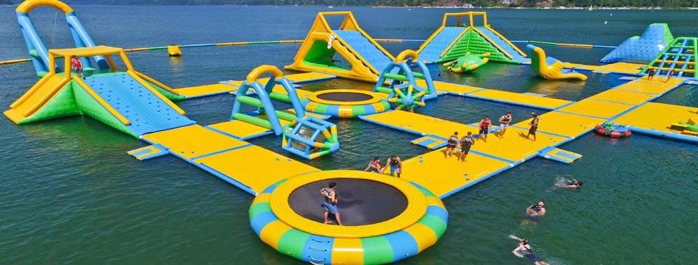China el mejor Parque acuático inflables en ventas