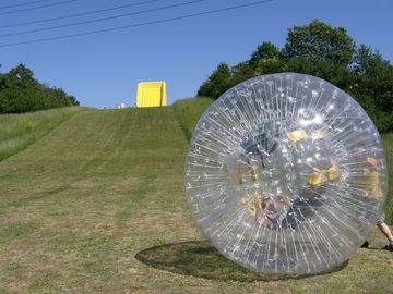inflable zorb ball