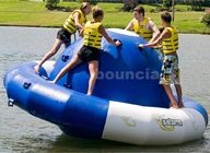 0.9mm Double Layer PVC Fabric Inflatable Saturn Rocker For Adult Used In Lake