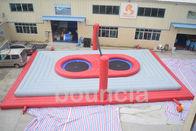 De Buena Calidad Parque acuático inflables & Corte de voleibol inflable de playa de la lona del PVC de la calidad comercial 16mL * 10mW * 4mH a la venta