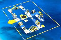 De Buena Calidad Parque acuático inflables & El parque/los niños flotantes inflables del agua riega proyectos del parque con la lona del PVC de 0.9m m a la venta
