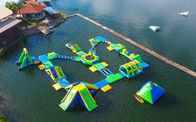De Buena Calidad Parque acuático inflables & juegos flotantes inflables del parque del agua de los adultos de la lona del PVC de 0.9m m con la certificación del TUV a la venta