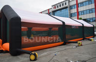 210D PVC Coated Nylon Inflatable Paintball Tent / Paintball Arena With Air Blowers