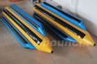 0.9mm Durable PVC Tarpaulin Inflatable Banana Boat For 5 Persons