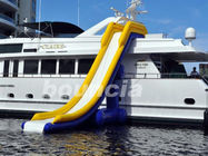 7.7m Long Inflatable Water Slide For Yacht , Yacht Inflatable Water Slide