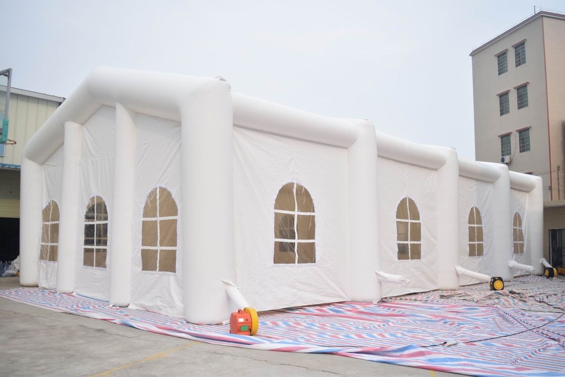 White Color 6m High Inflatable Tent,  Inflatable Wedding Tent