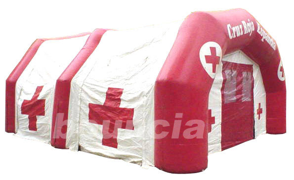 Inflatable Airtight Medical Tent TEN64 with Durable Anchor Rings