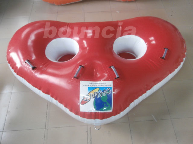 Towable Inflatable Flying Water Ski Tube, Floating Water Tube