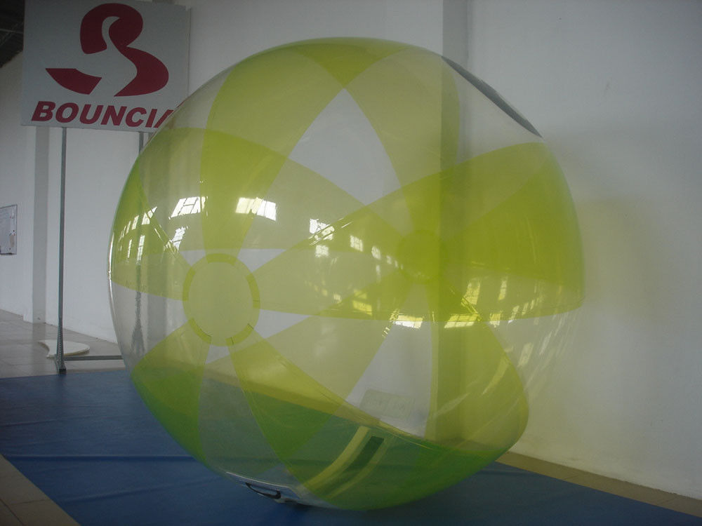 TPU Inflatable Water Walking Ball , Water Zorb Ball For Swimming Pool